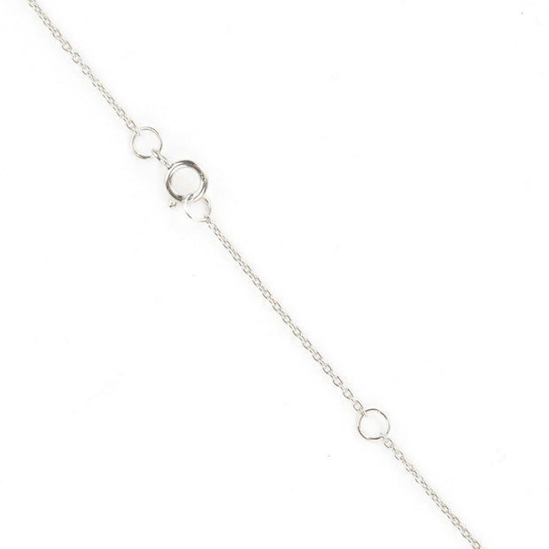 Sprinkle Necklace Silver 1