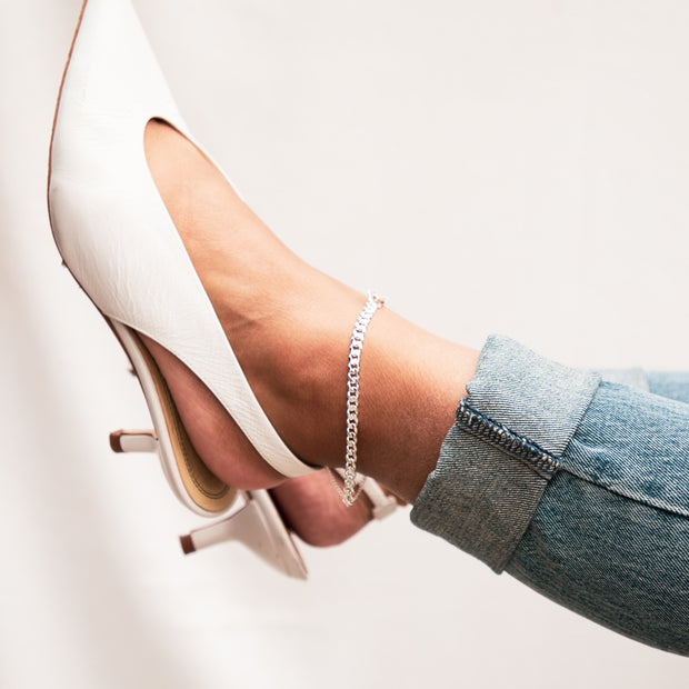 Finisher Anklet Silver 1