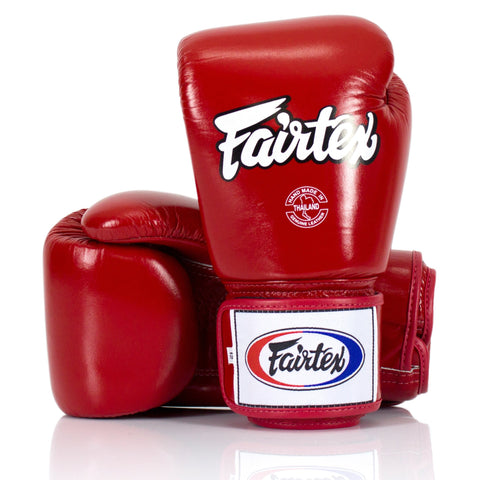 Fairtex Tight Fit Gloves - Red