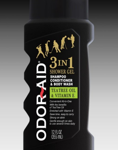 Odor-Aid 3 In 1 Shower Gel