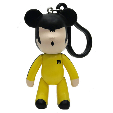 Bruce Lee Bear Key Chain