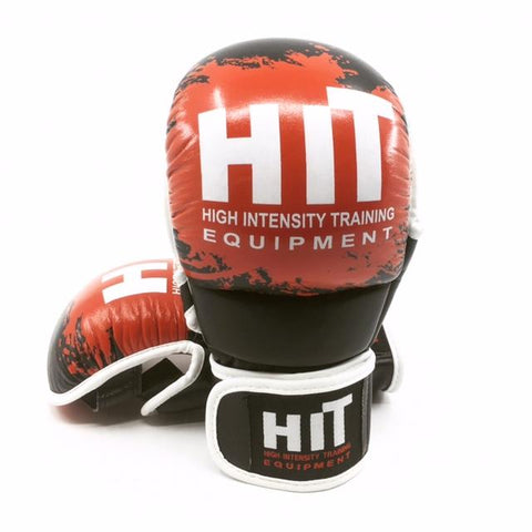 "HiT Hybrid ""Splash"" MMA Gloves"