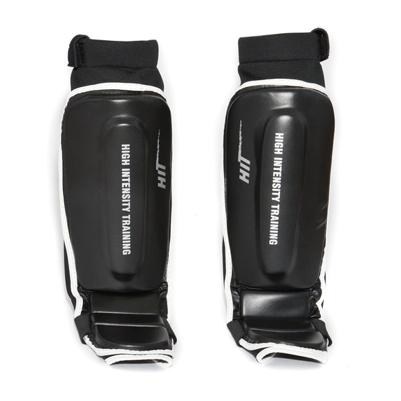 HiT Leather MMA/Grappling Shin Guards
