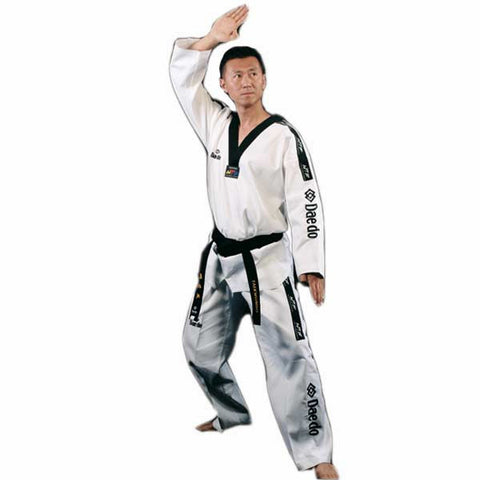 Daedo Tae Kwan Do Uniform - Black Collar