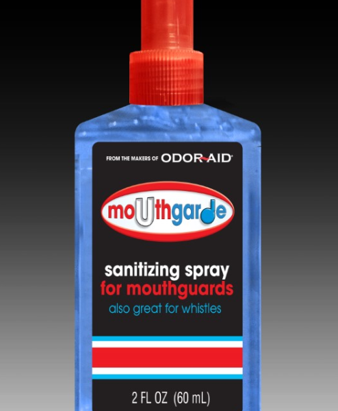 Odor-Aid Mouth Guard Sanitizing Spray