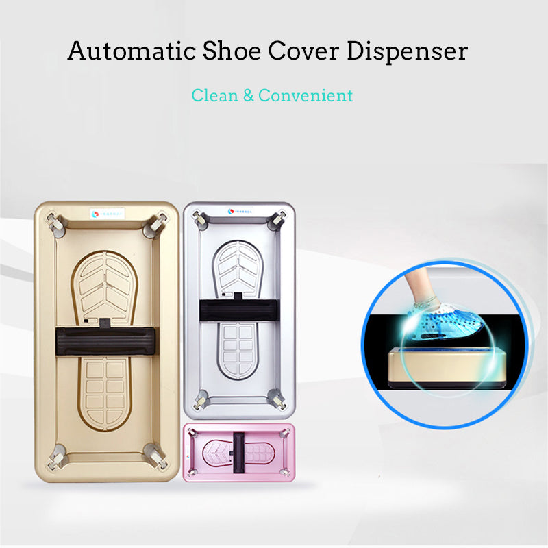 Automatic shoe cover dispenser ™