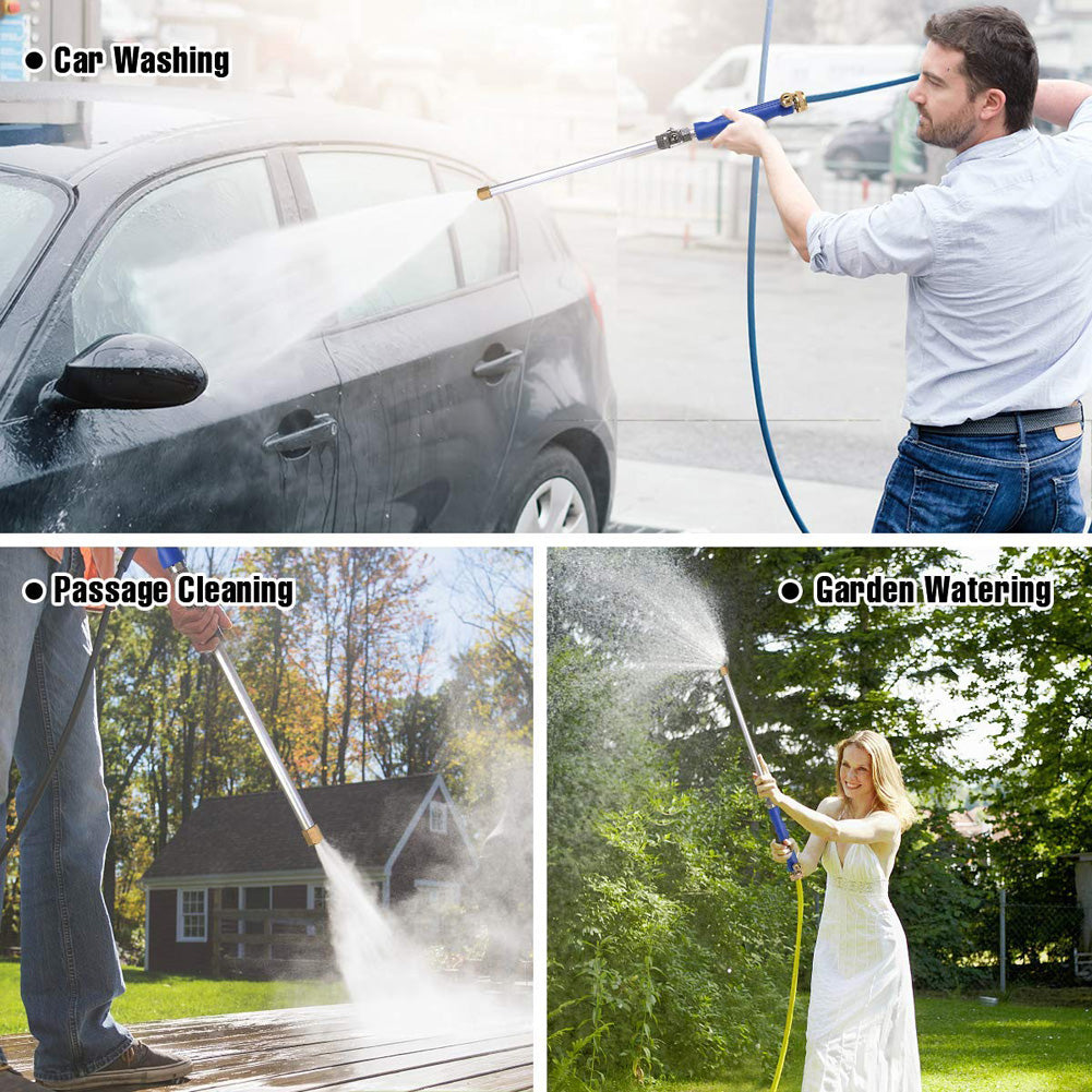 2-in-1 High Pressure Washer Gun
