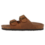Womens Raegan 2-Strap Leather Cork Sandal - Northside USA