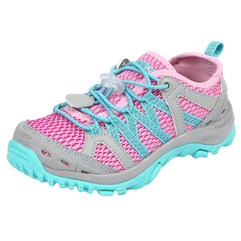 Kids Cedar Rapids Lightweight Mesh Hiking Shoe - Northside USA