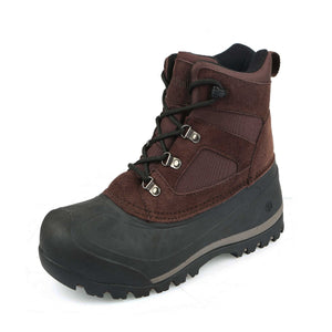This outdoor boys/girls winter boot offers water resistant construction with quick drying lining to keep your feet dry/gusseted tongue to keep debris out.