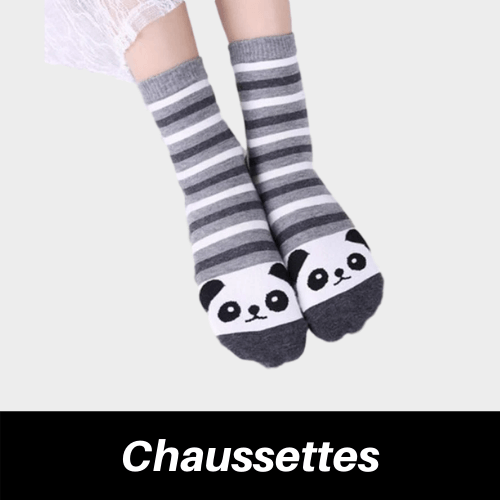 Collection chaussettes panda