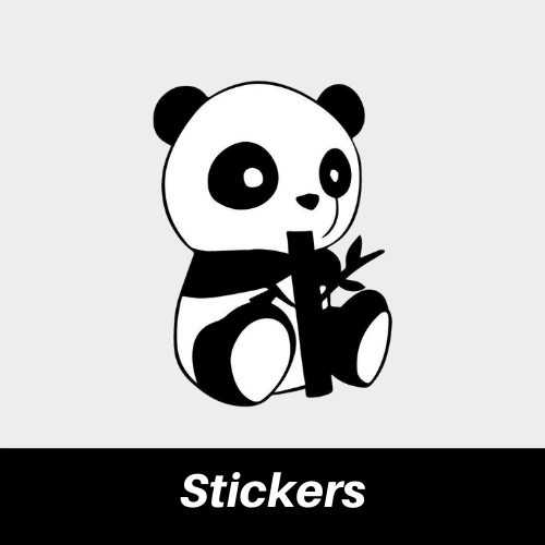 Collection Stickers Panda