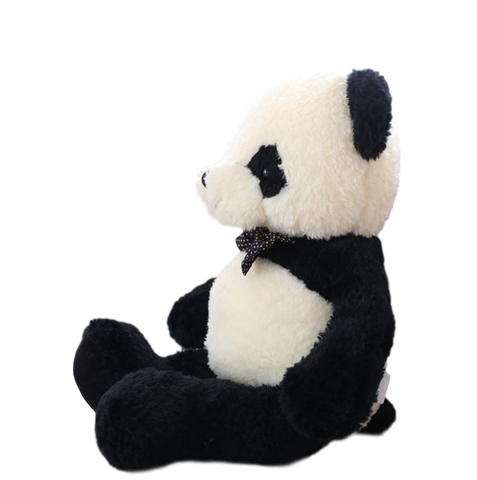Finition de peluche panda