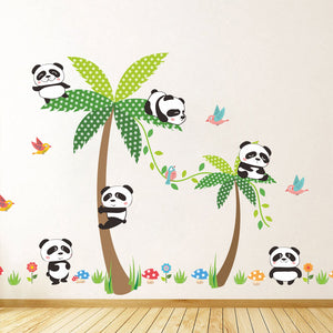 stickers panda ours