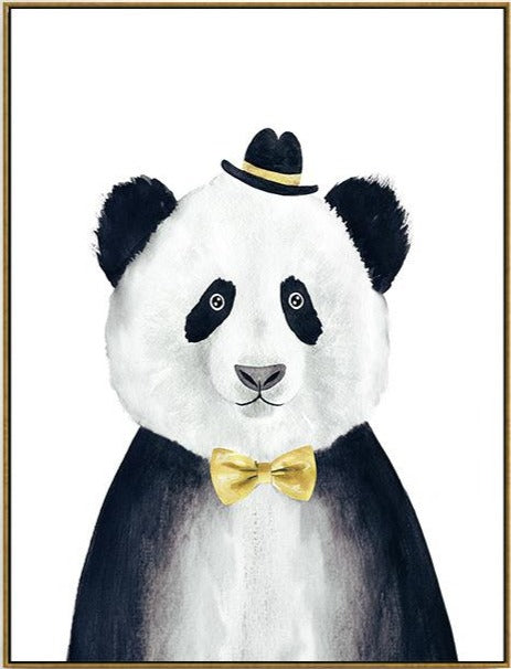 poster affiche ours Panda