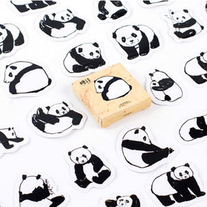 plein de stickers panda fun