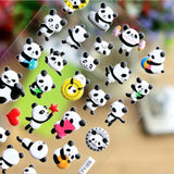 lot de stickers panda