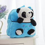 Cartable Peluche Panda Personnalisable