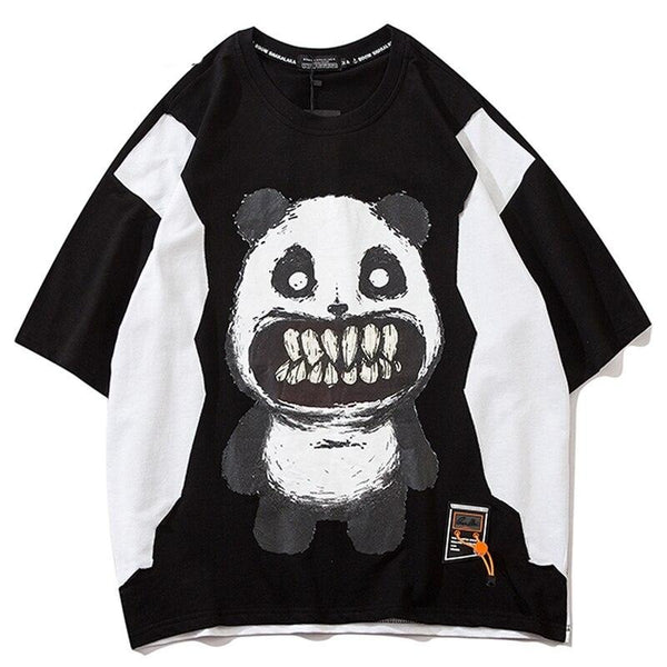 t shirt panda terrible