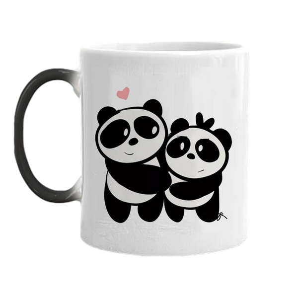 tasse cafe panda calin