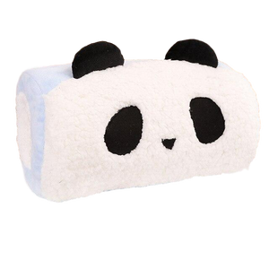Petit Traversin Panda Rectangulaire