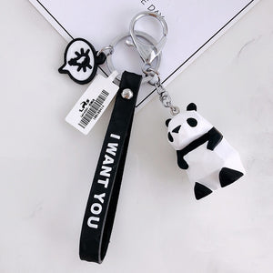 "Porte-Clés Panda ""I Want You"""