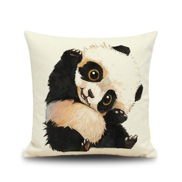 Coussin Cartoon Panda