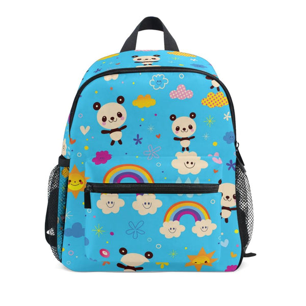 cartable panda bleu