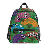 cartable panda multicolore evantail chinois