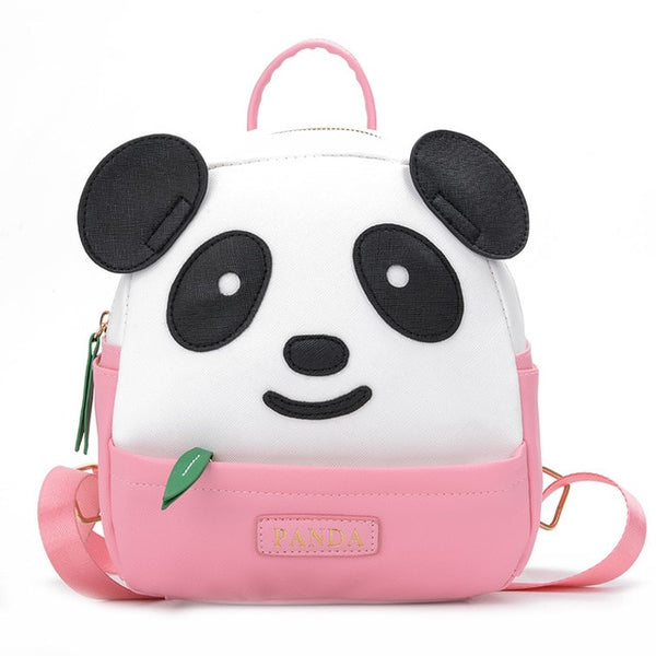 sac panda rose zippe