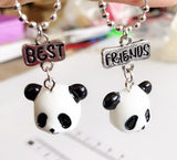 "Collier ""Best Friends"" Panda à Partager"