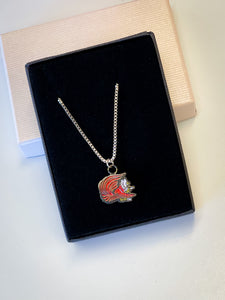 Gamecock Charm Necklace