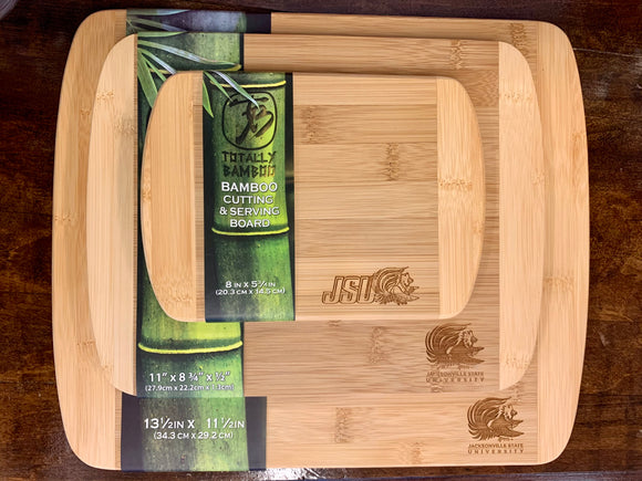 JSU Etched Bamboo Serving Board