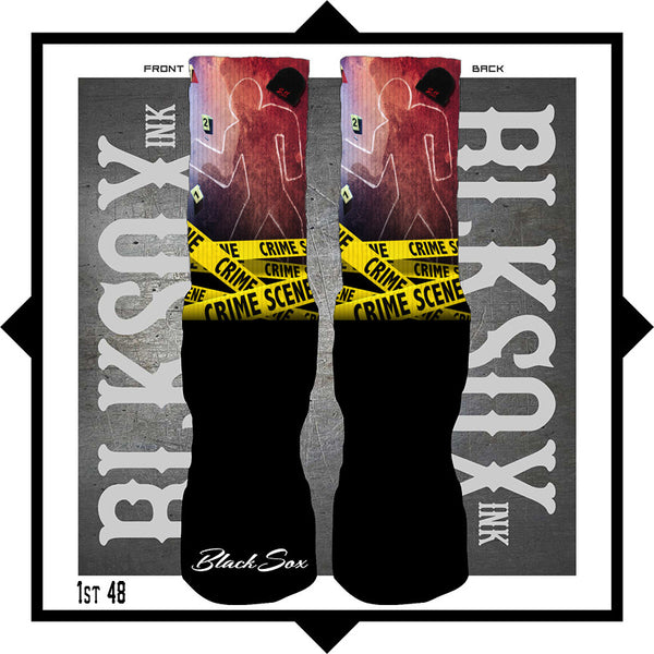 First 48 Luxury Socks - Black Sox Ink