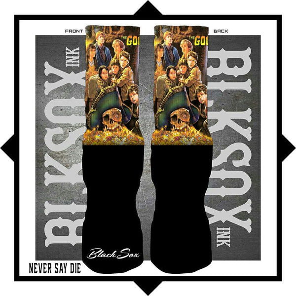 Never Say Die Luxury Socks - Black Sox Ink