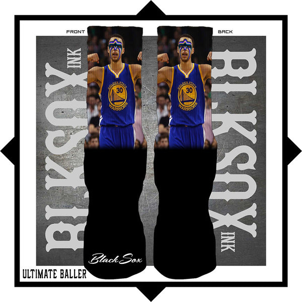 Ultimate Baller Luxury Socks - Black Sox Ink