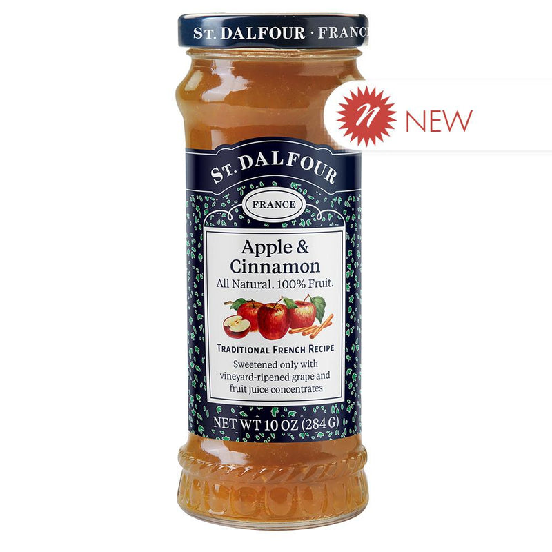 St. Dalfour Apple & Cinnamon Fruit Spread, 10oz