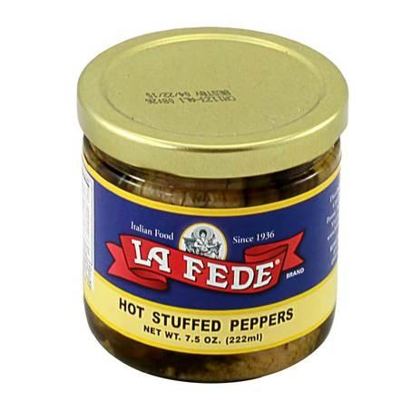 La Fede Hot Stuff Peppers, 7.5 oz
