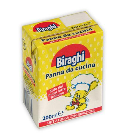 Biraghi Cooking Cream (Panna Da Cucina) 200ml