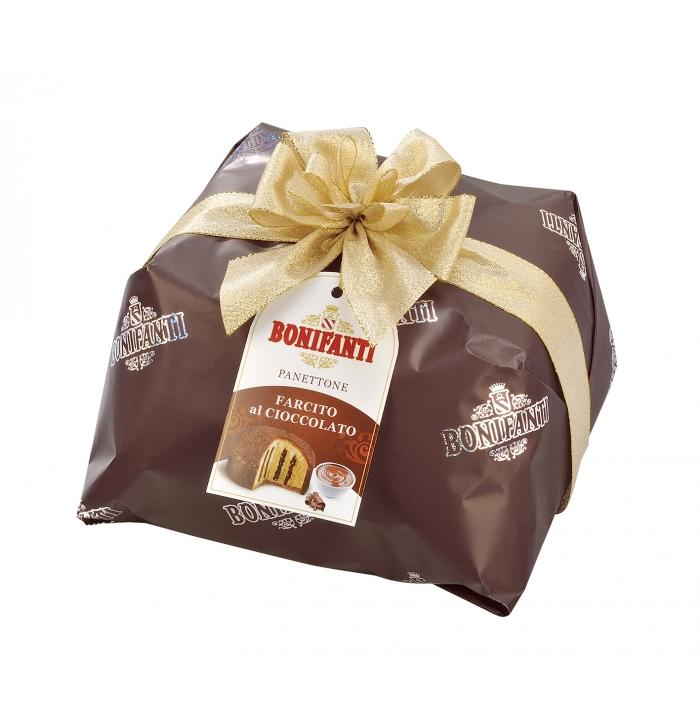 Bonifanti Panettone filled With Chocolate Cream, 850g
