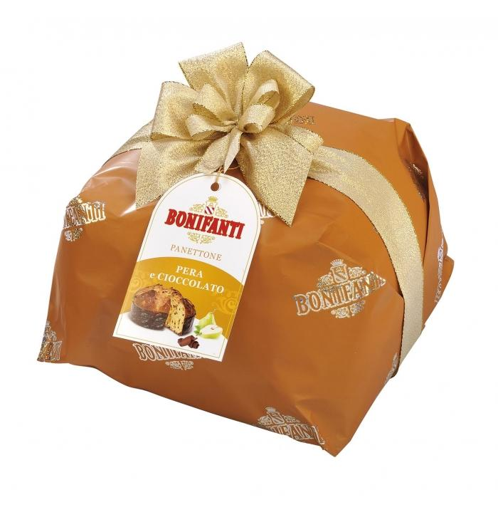 Bonifanti Panettone PERA AND CHOCOLATE, 1000g