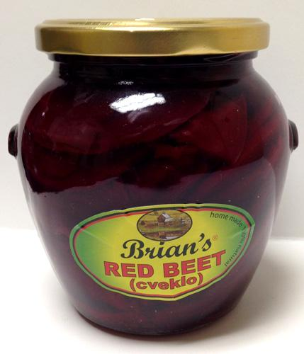 Brian's Red Beets, 550g