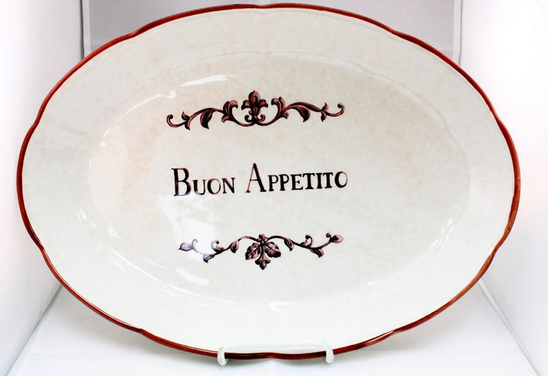 Buon Appetito Serving Dish