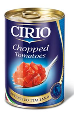 Cirio Polpa Chopped Tomatoes, 14.5 oz