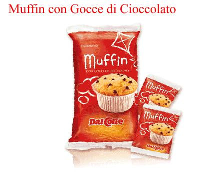 DalColle Muffin Choclate Chip (Gocce di Cacao) 8.4 oz 240g