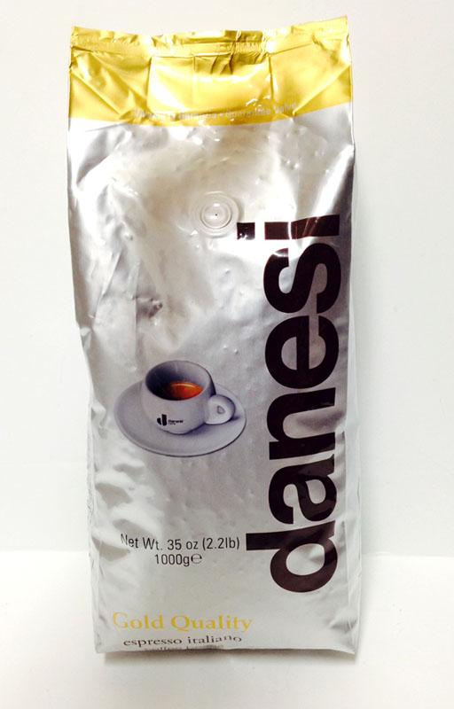 Danesi Gold Quality Coffee Beans, Espresso Italiano 1000g