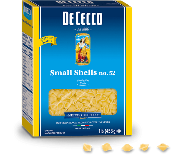 De Cecco Small Shells #52, 1lb