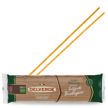 Delverde Organic Whole Grain Spaghetti