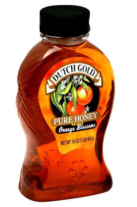 Dutch Gold Pure Honey from Orange Blossoms 16 oz