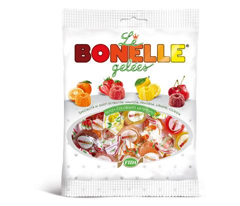 Fida Le Bonelle Gelees Fruit Candy Jelly Candy, 4.5oz (127g)